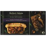Herbert Adams Slow-Cooked Beef With Shiraz & Cracked Pepper Pies 400g