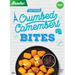 Leader Crumbed Camembert Bites 300g