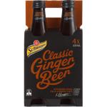 Schweppes Classic Ginger Beer 4pk