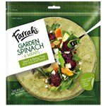 Farrah's Garden Spinach Wraps 6ea