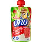 Anchor Uno Squeezie Smooth Strawberry Yoghurt 100g