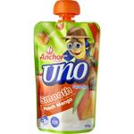Anchor Uno Squeezie Smooth Peach Mango Yoghurt 100g