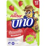 Anchor Uno Smooth Strawberry Yoghurt 12pk