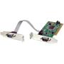 STARTECH 2 Port PCI LP RS232 Serial Adapter Card
