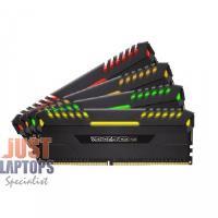 Corsair Vengeance RGB 8GB DDR4 2666MHz Memory Black