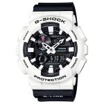 Casio G-SHOCK G-LIDE 200M Water Resistance Analog-Digital Watch GAX-100B-7A - White + Black