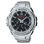 Casio G-SHOCK G-STEEL TOUGH SOLAR Analog-Digital Watch GST-S110D-1A - Silver