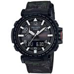 Casio PRO TREK Triple Sensor TOUGH SOLAR Watch PRG-650YBE-3 - Black