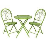 Nouveau Whitford Cafe Setting 3 Piece Lime SLS351K LIME