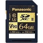 Panasonic UHS-II V90 SDXC Class 10 64GB