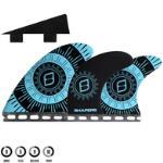 SHAPERS CORELITE PIVOT 6 FIN BLUE BLACK - FUTURES - L FUTURES MOUNT LARGE 6 FIN