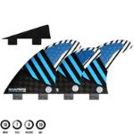 SHAPERS HY CARVN 6 FIN BLUE CORE - FCS - L FCS MOUNT LARGE 6 FIN