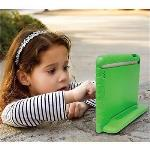 OEM Education Soft handle iPad Air 1 Case Protector For School Kids (Green)