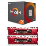 AMD Ryzen 7 1800X  with Flare X 16GB (2 x 8GB) DDR4 3200Mhz RAM