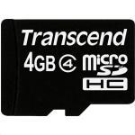 Transcend MicroSDHC Class 4 4GB