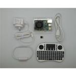 Raspberry Pi 4 Model B 4GB Home Use KODI Media Player Kit Pack White Edition, Supports Dual Monitors Includes Install Guide SEVRBP0235