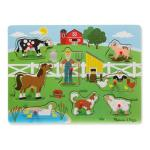 Melissa and Doug Old MacDonald\'s Farm Sound Puzzle