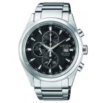 Citizen Mens Eco-drive Titanium WR100 Watch CA0650-82F