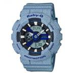 BA110DE-2A2 Casio Baby-G Denim Series Watch BA110DE-2A2