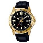 Casio Mens Stainless Steel Gold Watch MTP-VD01GL-1E
