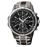 SSC143P-9 Seiko Gents Solar Alarm Chronograph Watch SSC143P-9