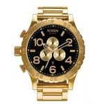 NIXON Gold Chronograph Watch A083510