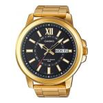 MTPX100G-1A Casio Gents Gold 50 Metre Watch MTP-X100G-1A