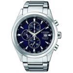 Citizen Mens Eco-drive Titanium WR100 Watch CA0650-82M