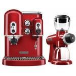 KitchenAid Espresso Machine and Burr Grinder Duo KAESSGR