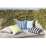 Branch Stripe Square Cushion by Limon 23106C