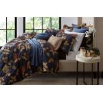 Bordeaux Navy Duvet Cover Set by Da Vinci BORNAQCS3