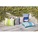 River Stripe Rectangle Cushion by Limon 23096C