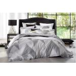 Flamestitch Silver Duvet Cover Set by Florence Broadhurst FMESVQCS3
