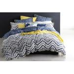 Taeo Navy Duvet Cover Set by Logan and Mason TAENAQCS3