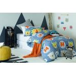 Funny Faces Duvet Cover Set by Jiggle and Giggle 5200