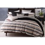Tri Copper Duvet Cover Set by Platinum Collection TRICXQCS3