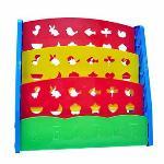 Bestbaby Children\'s Bookshelf Rainbow