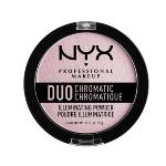 NYX Professional Makeup DCIP02 Duo Chromatic Illuminating Powder - Lavender Steel