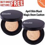 April Skin Black Edition Magic Snow Cushion #22 115g Buy 1 Take 1