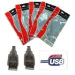 8ware: USB 2.0 Certified Cable A-A - 1m