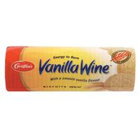 Griffin's Wine Biscuits Vanilla pkt 250g