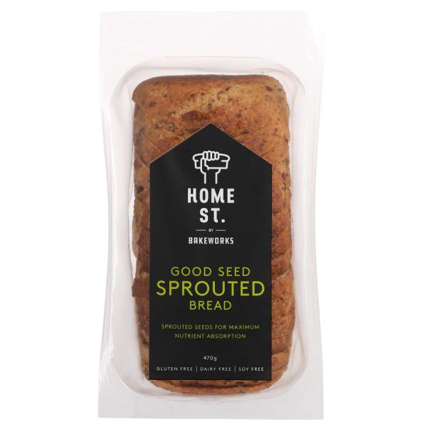 Home St. Sprouted Bread Gluten Free 470g