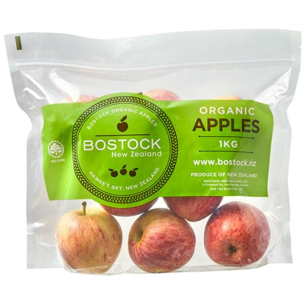 Produce Apples Organic Royal Gala prepacked 1kg