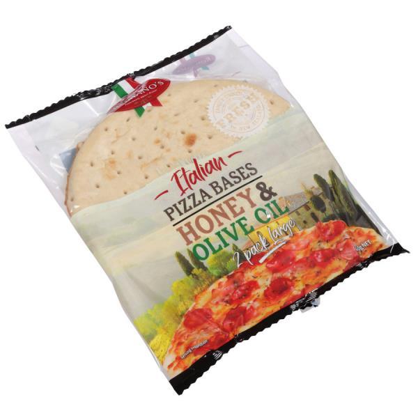 Romano's Pizza Bases Crust 640g