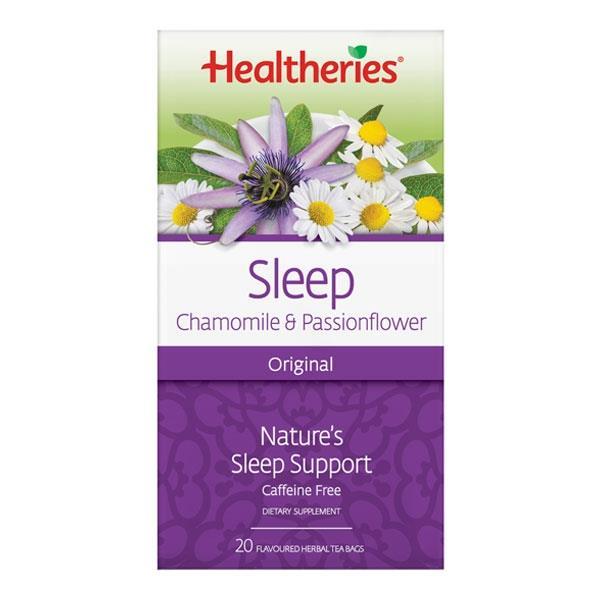 Healtheries Sleep Herbal Tea With Chamomile & Passionflower 20ea