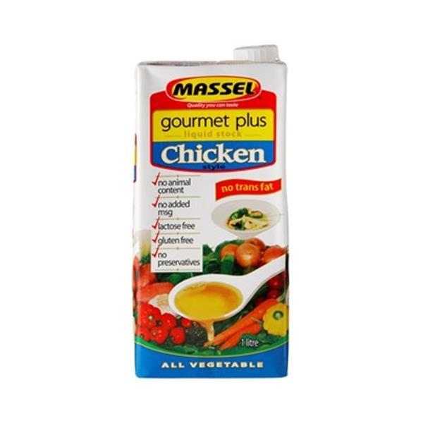 Massel Gourmet Plus Chicken Stock Liquid 1l