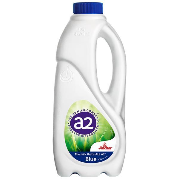 Anchor A2 Milk Standard Blue Top 1l