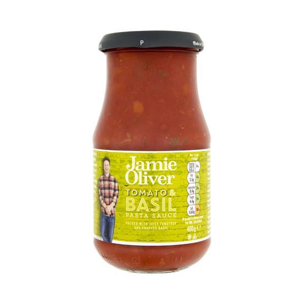 Jamie Oliver Pasta Sauce Tomato & Basil 400g