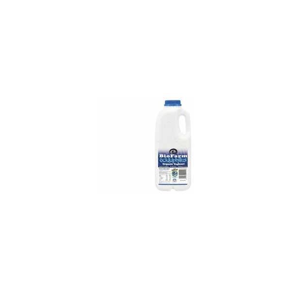 Biofarm Organic Yoghurt Bottle Acidophillus 1l