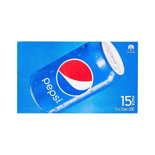 Pepsi Soft Drink 5325ml (355ml x 15pk)